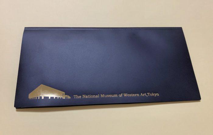 チケットファイル 国立西洋美術館