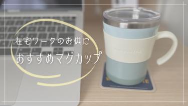 【在宅ワークのお供】優しいカラーの保温・保冷マグカップ