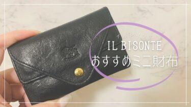 このサイズを求めてた!ミニバックにも入るイル ビゾンテのミニ財布(カードケース)【レビュー】