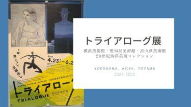 【展覧会レビュー】「トライアローグ展」行ってきました@愛知県美術館